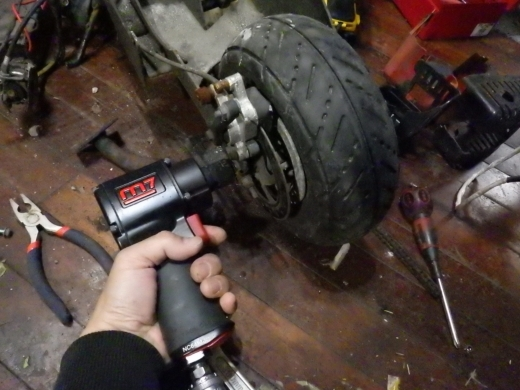エンジン付きキックボード分解 (48)