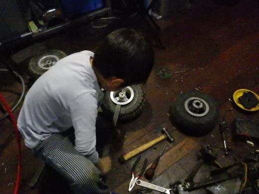 エンジン付きキックボード分解 (53)