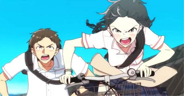 自転車 バイク 並走