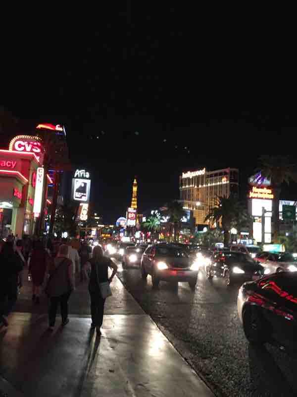 ラスベガスで夜遊び