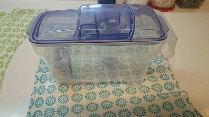 冷蔵庫製氷機タンククリーニング前