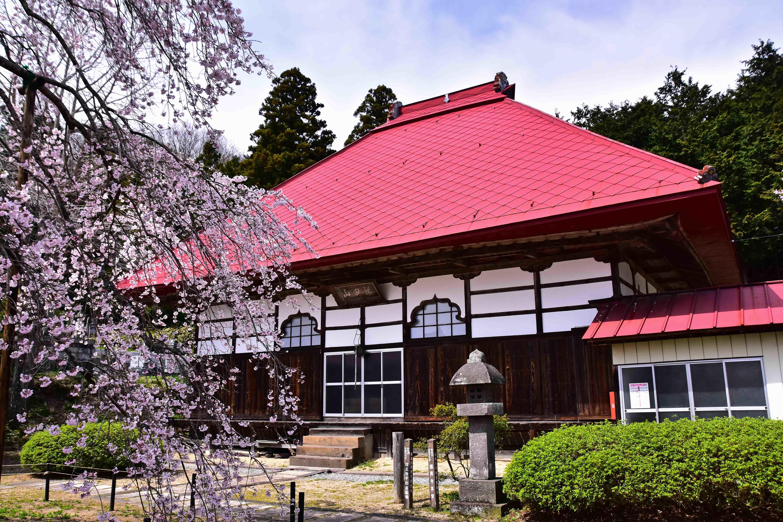 横田 護真寺本堂