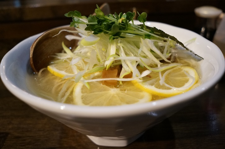 麺屋はじめ@那須烏山市 とり檸檬 とり塩