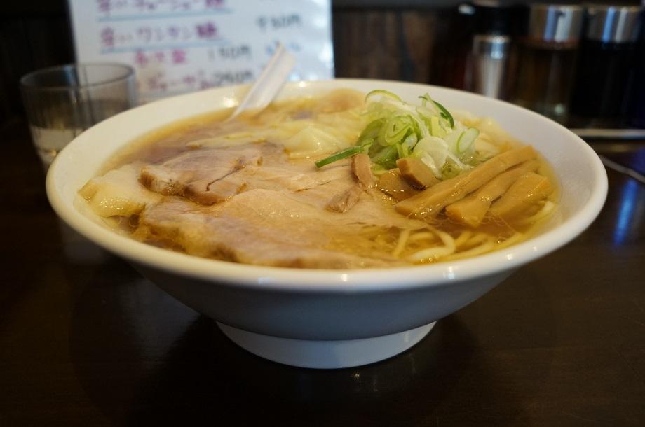 中華そば ぼたん@栃木市 ワンタン麺
