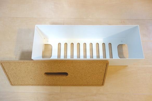 IKEA・KVISSLE ケーブルマネジメントボックス①
