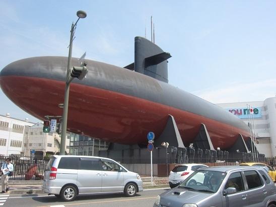 潜水艦下から