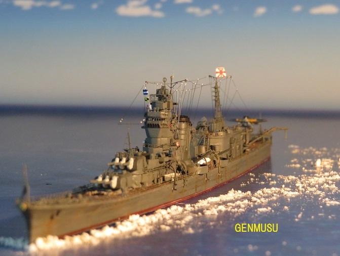 昔日の連合艦隊旗艦