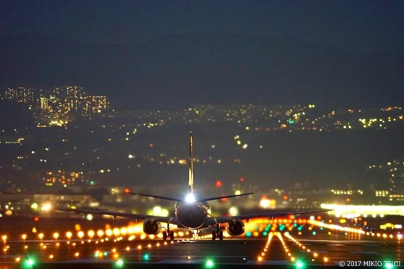 0127 大阪伊丹空港の夜景(大阪府 伊丹市)