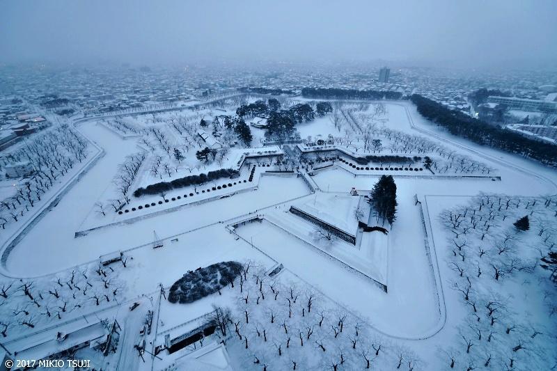 絶景探しの旅 - 0133 白い五稜郭 (北海道 函館市)