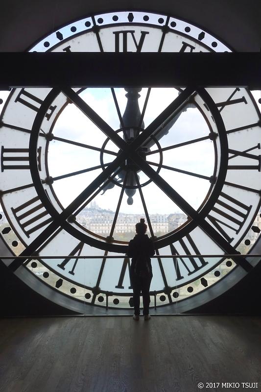 絶景探しの旅 - 0151 オルセー美術館 大時計とモンマルトルの丘の風景 (フランス パリ)