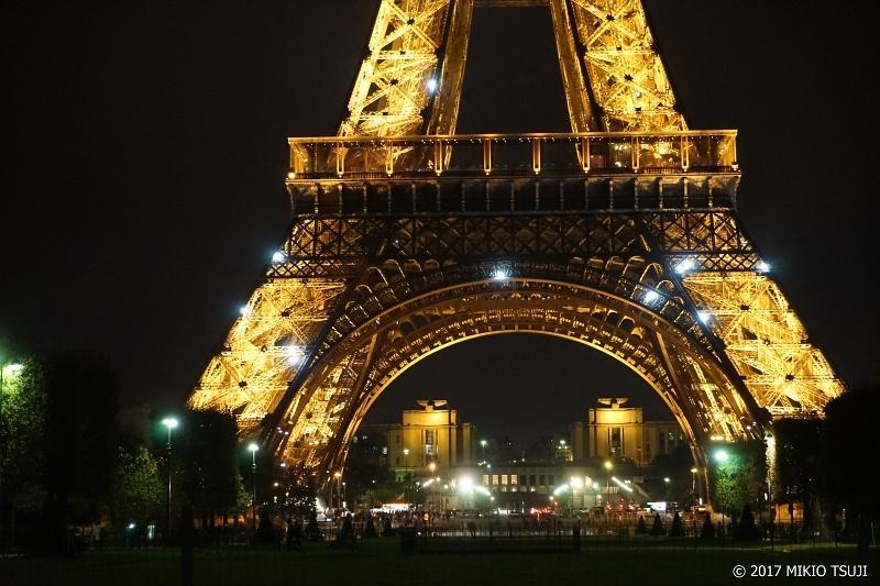 絶景探しの旅 - 0152 エッフェル塔の夜景 (フランス パリ)